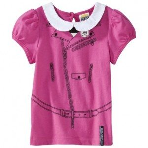 Harajuku Mini for Target® Toddler Girls' Printed Straps and Button Tee - Pink