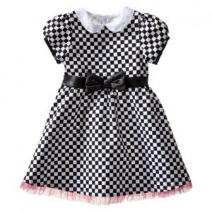 Harajuku Mini for Target® Toddler Girls' Sock Hop Dress - Black