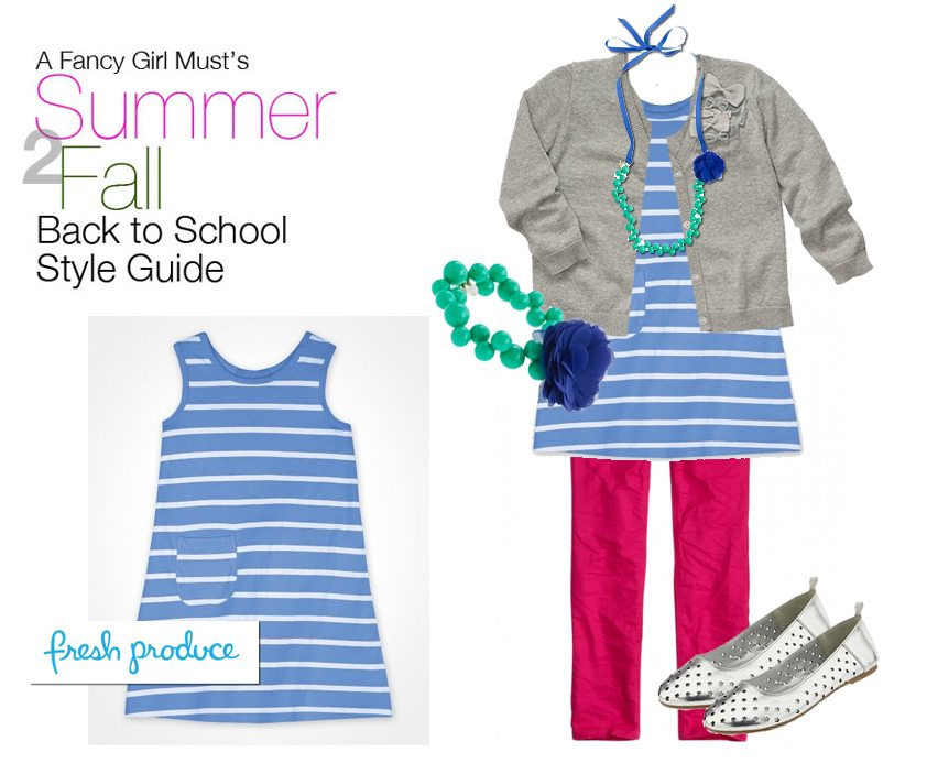 Summer 2 Fall Back to School Style Guide: Fresh Produce Sundress