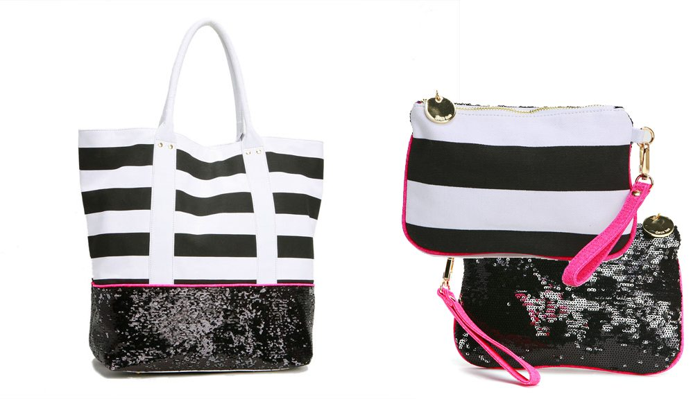 Deux Lux Tote and Wristlet