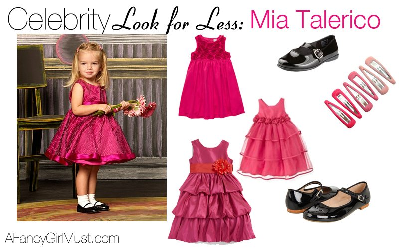 Celebrity Look 4 Less: Mia Talerico | AFancyGirlMust.com