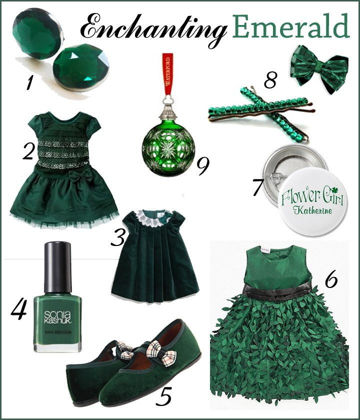 Trendspotting: Emerald Green Fall/Winter 2012
