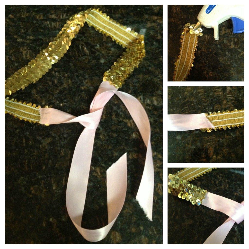 DIY: Juicy Couture Inspired Sequin Belt