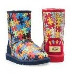 UGG® Australia Kid's Classic Art & Sole Boot