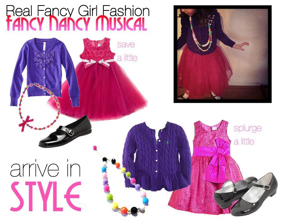 Real Fancy Girl Fashion: Fancy Nancy Inspired