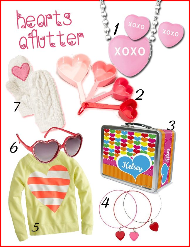 Valentine's Day Gift Ideas for Little Girls | AFancyGirlMust.com