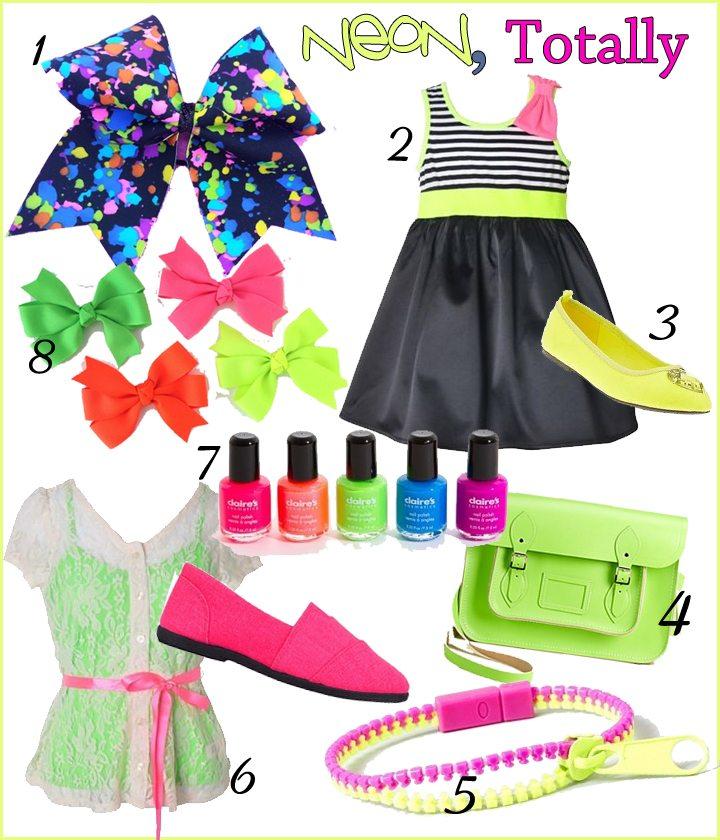 Trendspotting: Neon, Totally | AFancyGirlMust.com
