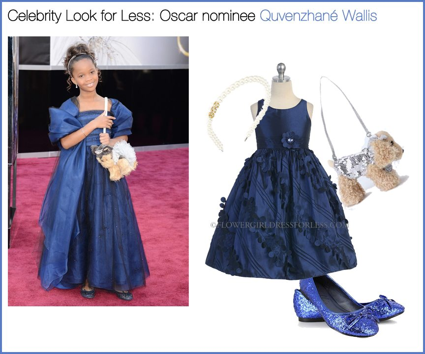 Celebrity Look for Less: Oscar nominee Quvenzhané Wallis