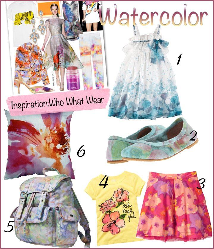 Trendspotting: Watercolor