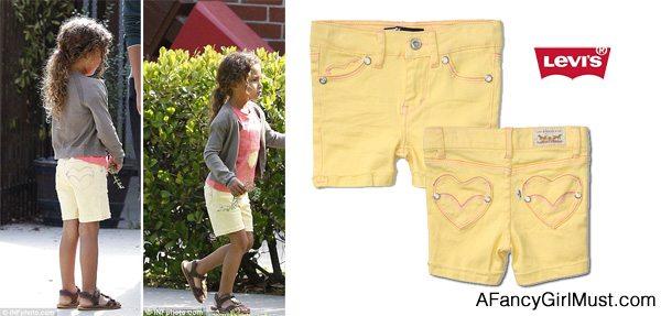 Nahla Levi's Summer Midi Shorts | AFancyGirlMust.com
