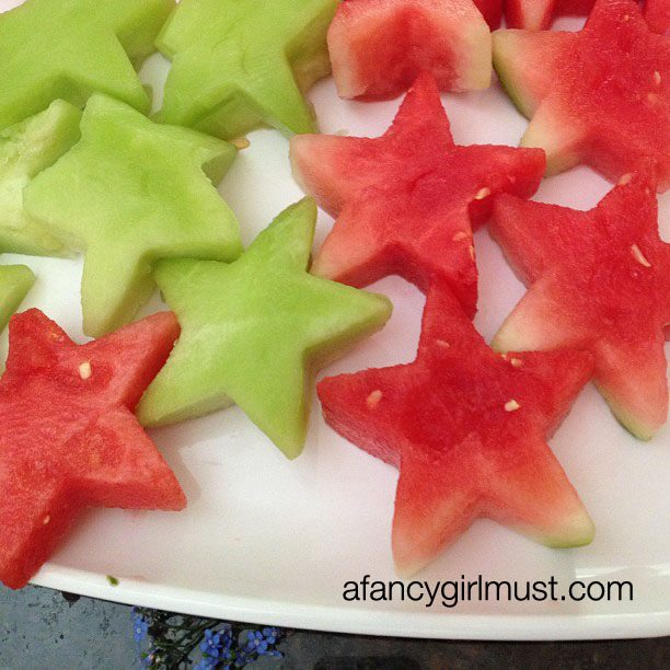Star Shaped Melon | AFancyGirlMust.com