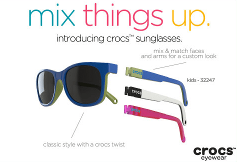 crocs sunglasses