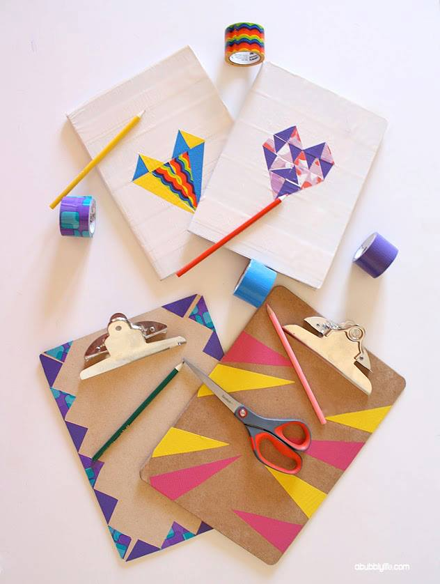 DIY Notebook Makeover by A Bubbly LIfe | AFancyGirlMust.com