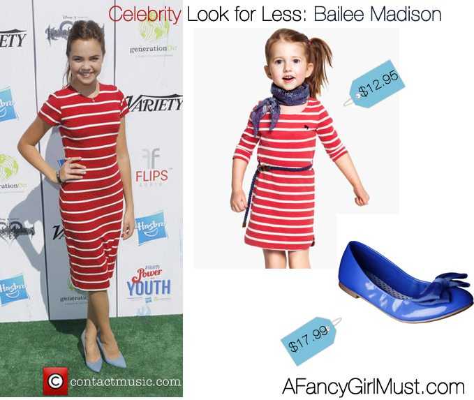 Celebrity Look for Less: Bailee Madison