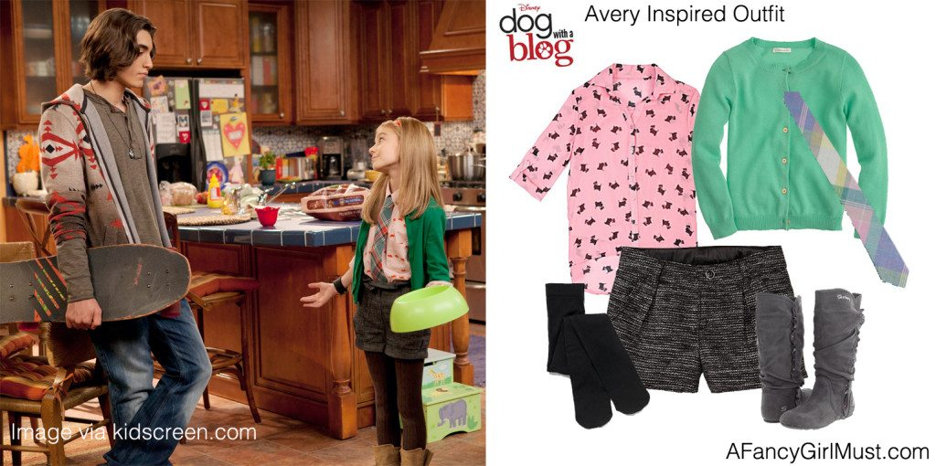 Dog With a Blog's Avery Inspired Outfit  | AFancyGirlMust.com