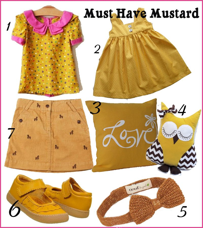 Trendspotting: Mustard Yellow for Fall 2013 | AFancyGirlMust.com