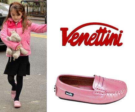 Suri Cruise wearing Venettini loafers