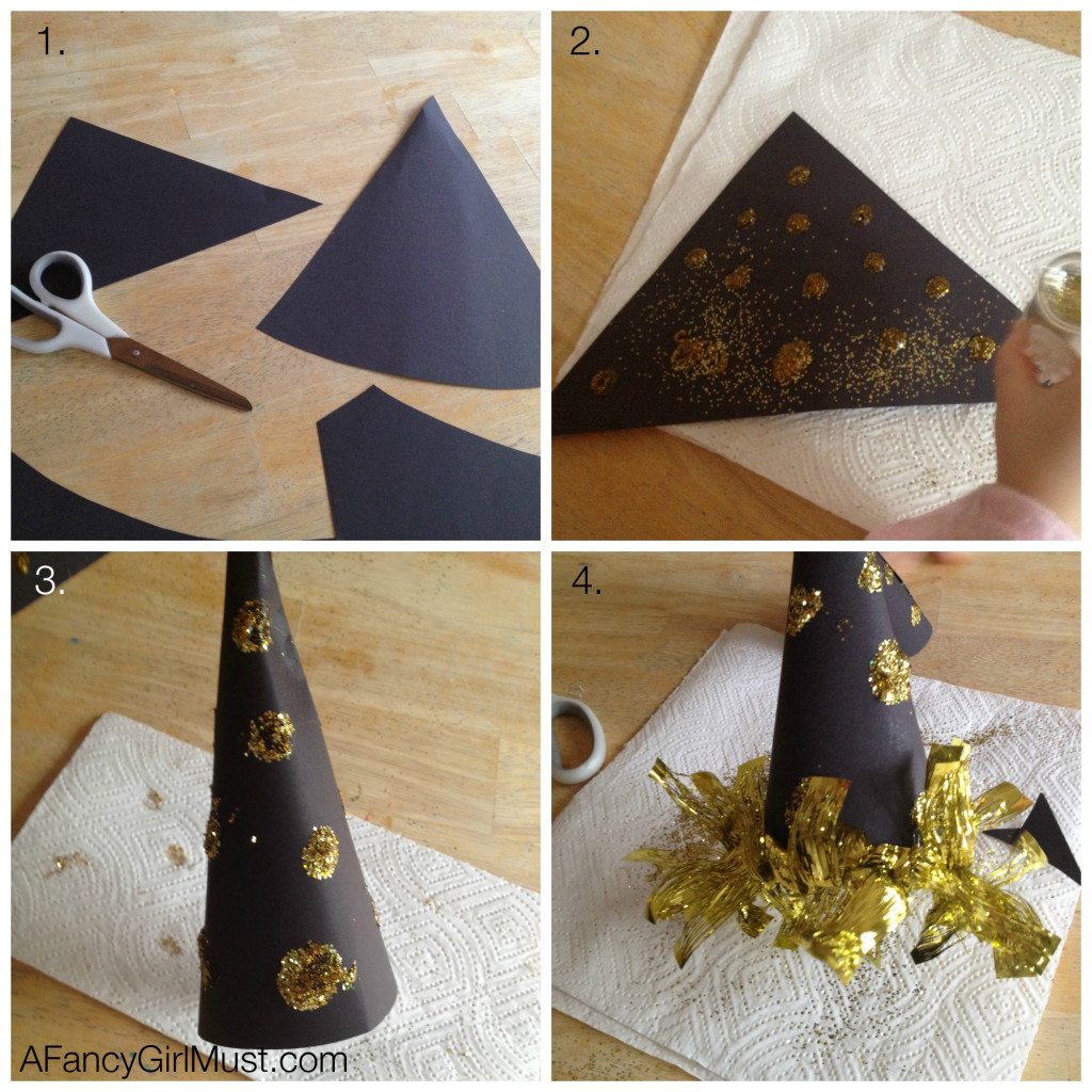 DIY New Year's Eve Hat | AFancygirlMust.com
