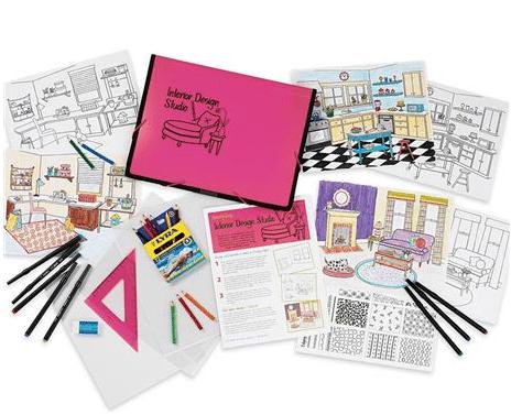 Gifts for the Fancy Girl Tween: Interior Design Studio Kit | AFancyGirlMust.com