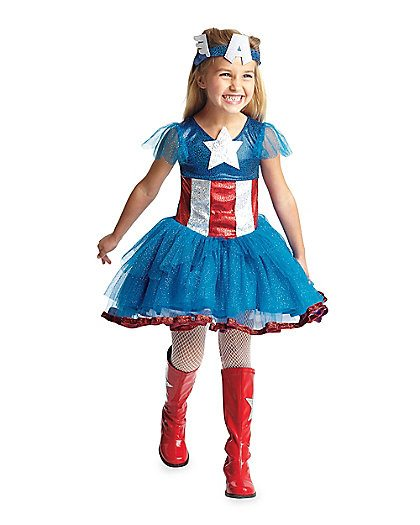 Non-Pink Halloween: Captain America and Other Super Heroes | AFancyGirlMust.com