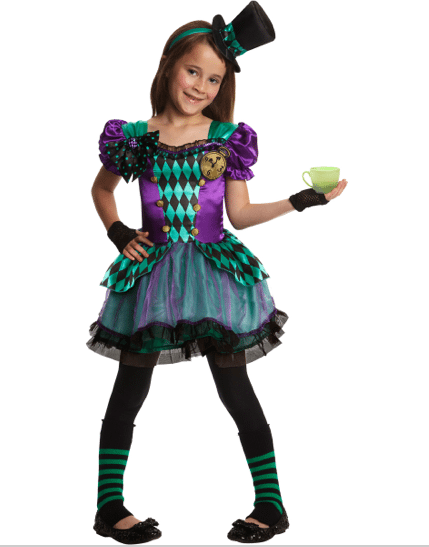 Non-Pink Halloween: Miss Mad Hatter | AFancyGirlMust.com