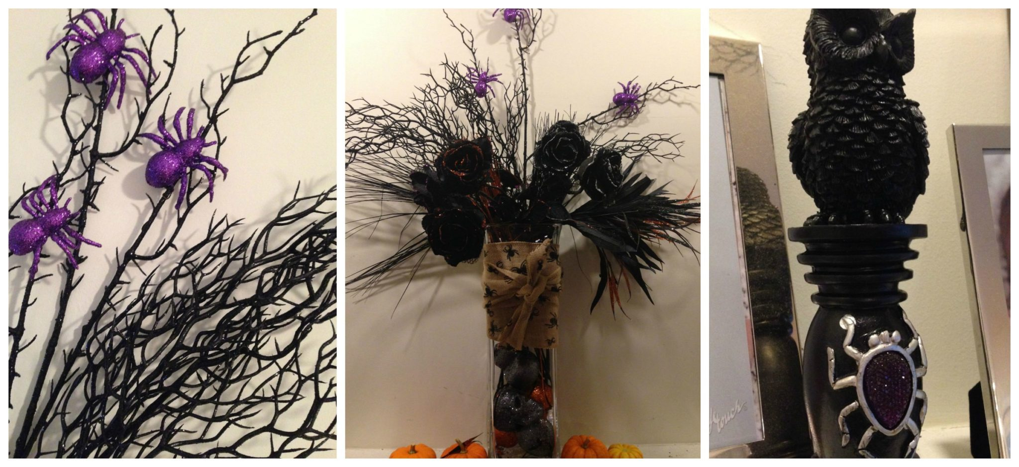 A Fancy Girl Must Friday Fresh Picks Sparkly Spider Halloween Decor