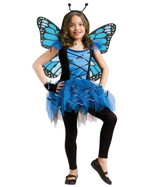 Non-Pink Halloween: Girls Ballerina Butterfly | AFancyGirlMust.com