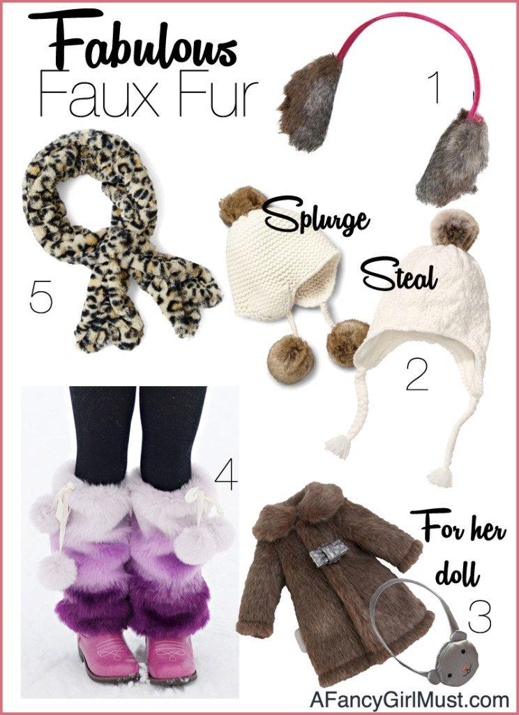 All Bundled Up in Fabulous Faux Fur | AFancyGirlMust.com