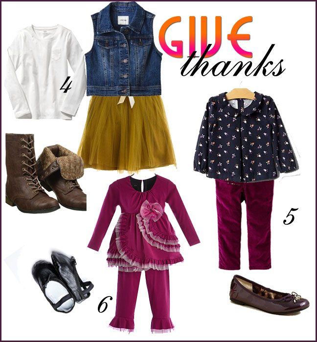 Thanksgiving Outfit Ideas for Girls | AFancyGirlMust.com