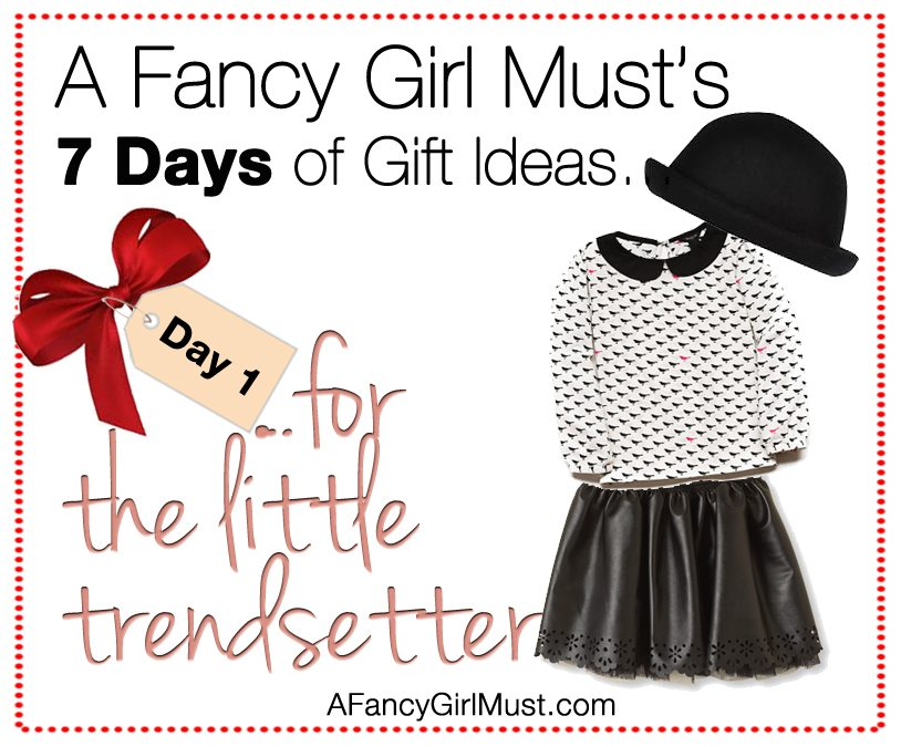 2014 Holiday Gift Guide: Gifts for the Little Trendsetter