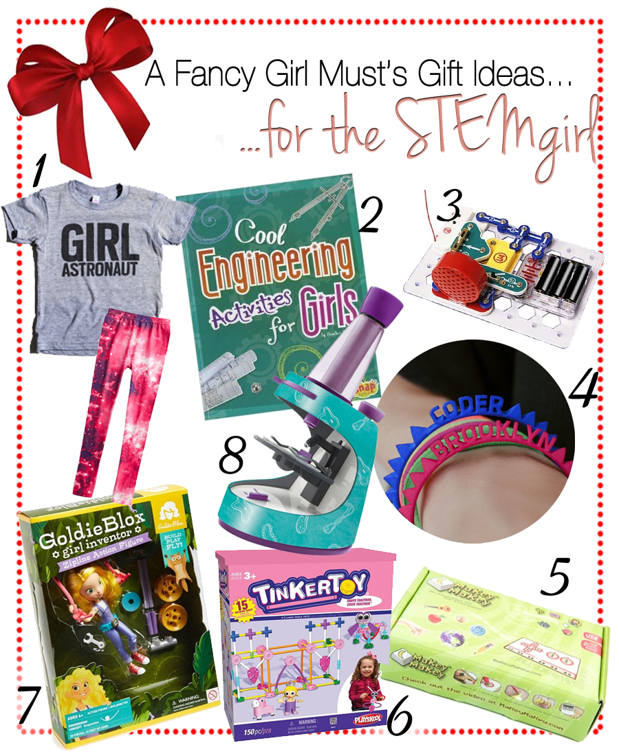A Fancy Girl Must's 2014 Holiday Gift Guide: Gifts for the STEM Girl