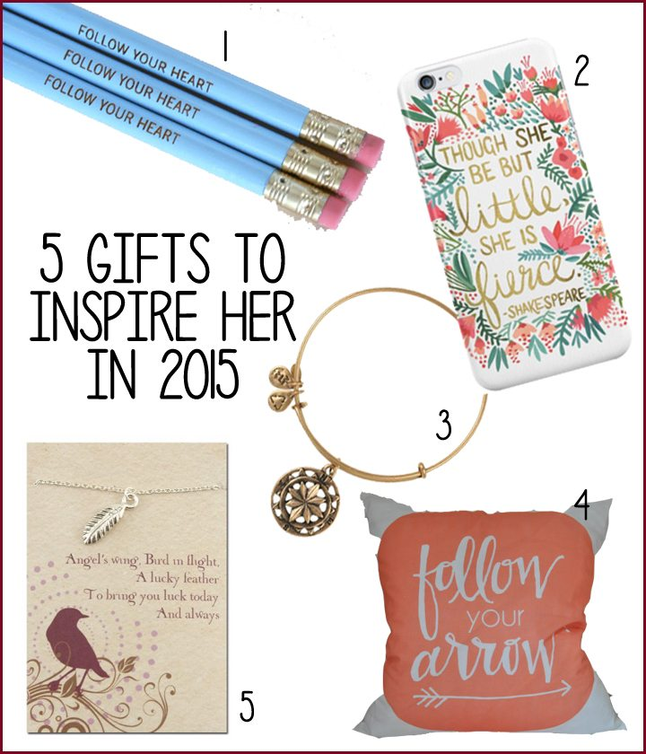 5 Gifts to Inspire Her in The New Year | AFancyGirlMust.com