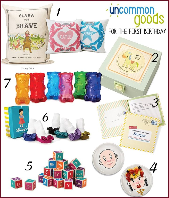 Uncommon and Unique Birthday Gifts for the First Birthday | AFancyGirlMust.com
