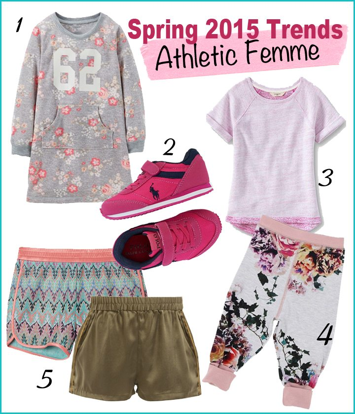 Trendspotting for SS 2015: Athletic Femme for Girls | AFancyGirlMust.com