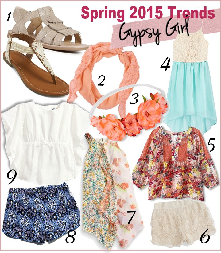 Trendspotting for SS 2015: Gypsy Girl | AFancyGirlMust.com