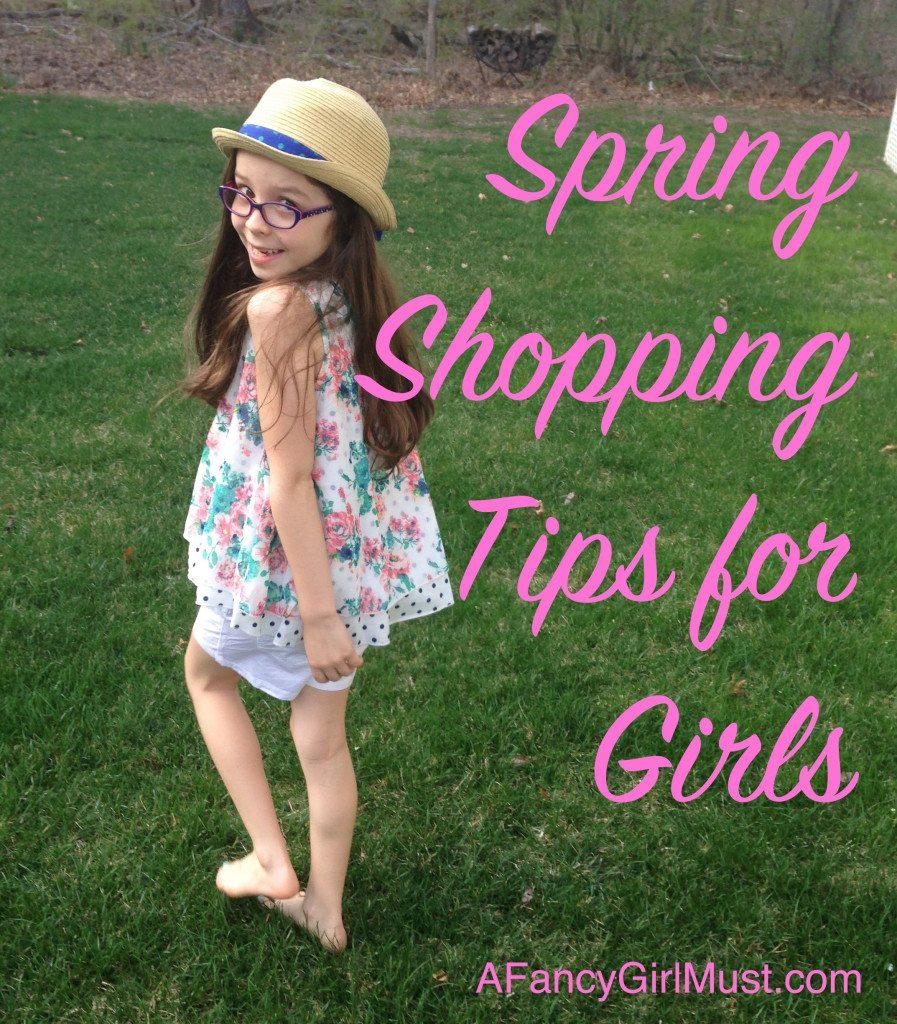 Spring Shopping Tips for Girls at Children's Place   AFancyGirlMust.com