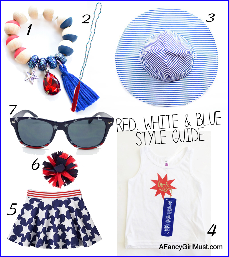 The Fancy Girl Checklist for a Sparkling July 4th Weekend | AFancyGirlMust.com