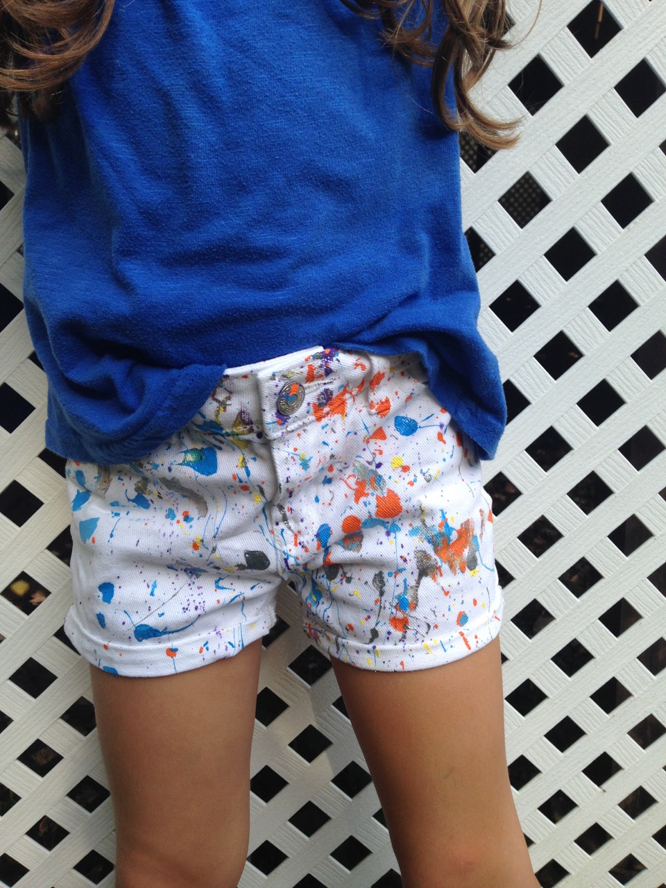 DIY Splatter Paint Clothing for #BTS Cool | AFancyGirlMust.com