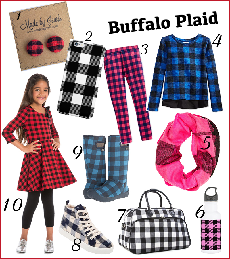 Trendspotting: Luberjack Chic - Buffalo Plaid