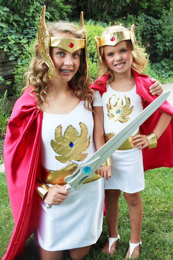 Halloween Throwback: 1980's Cartoon Costumes for Girls- She-Ra