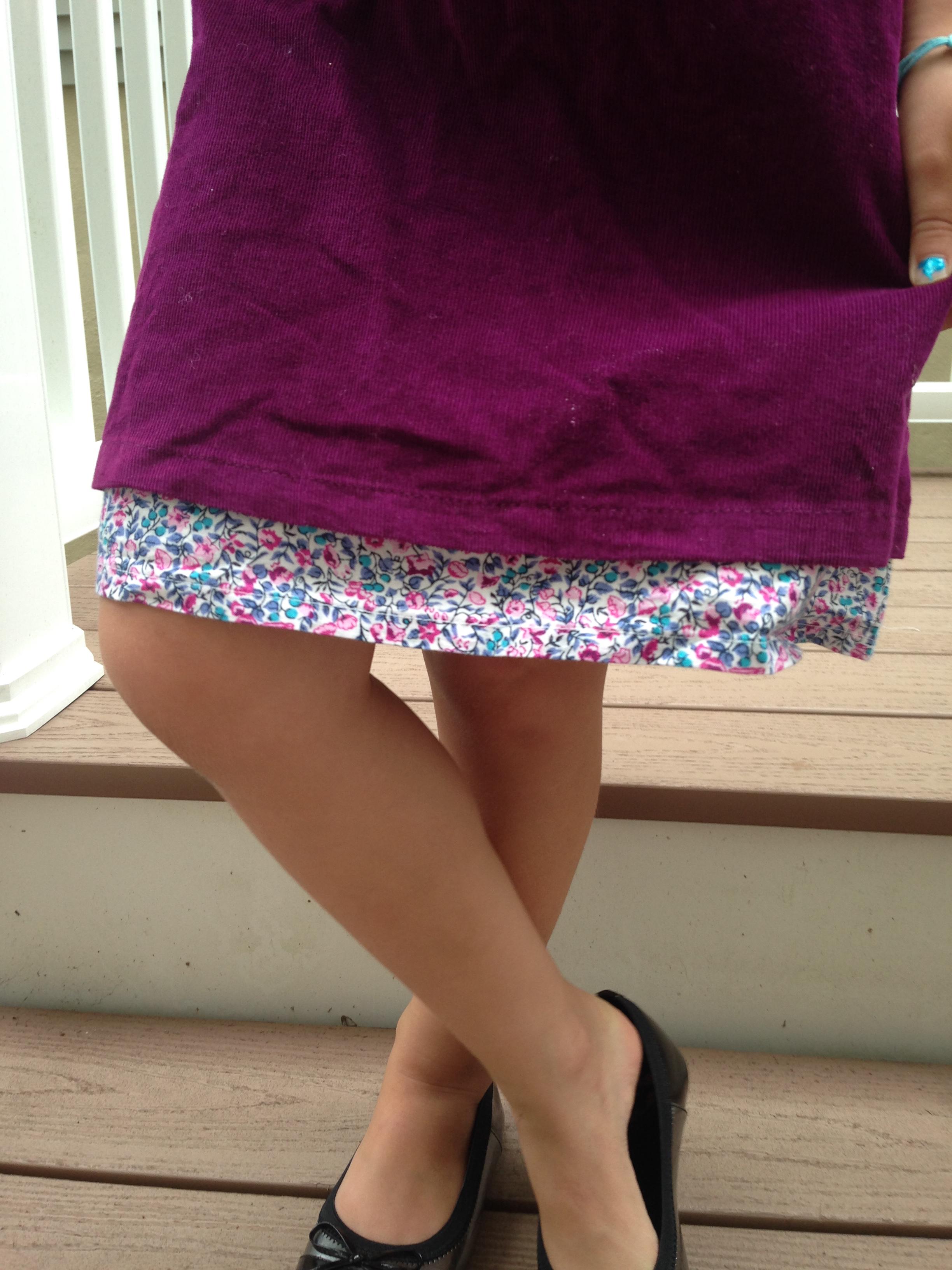 Pretty Cord Dress by JoJo Maman Bebe  USA