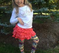 2 Ways to Wear Bold Printed Leggings