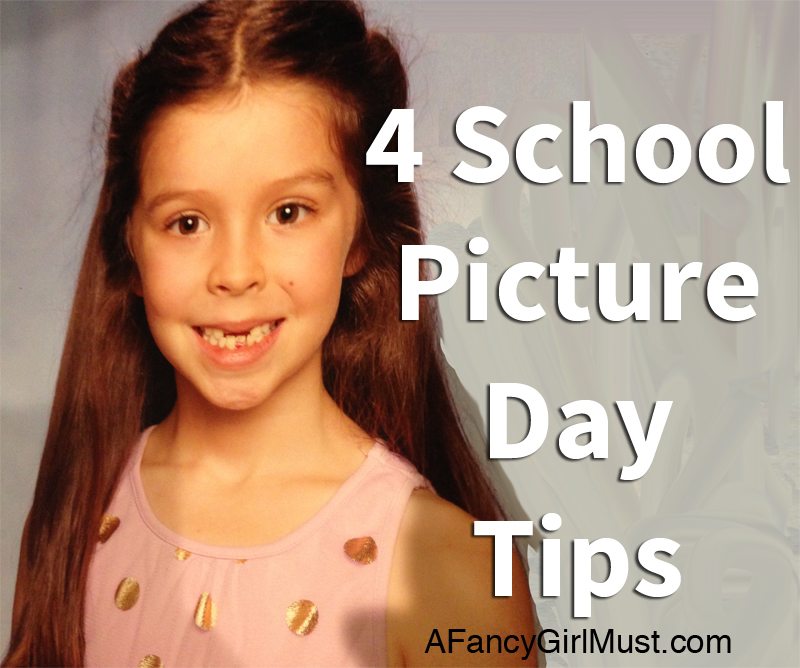 4 School Picture Tips | AFancyGirlMust.com