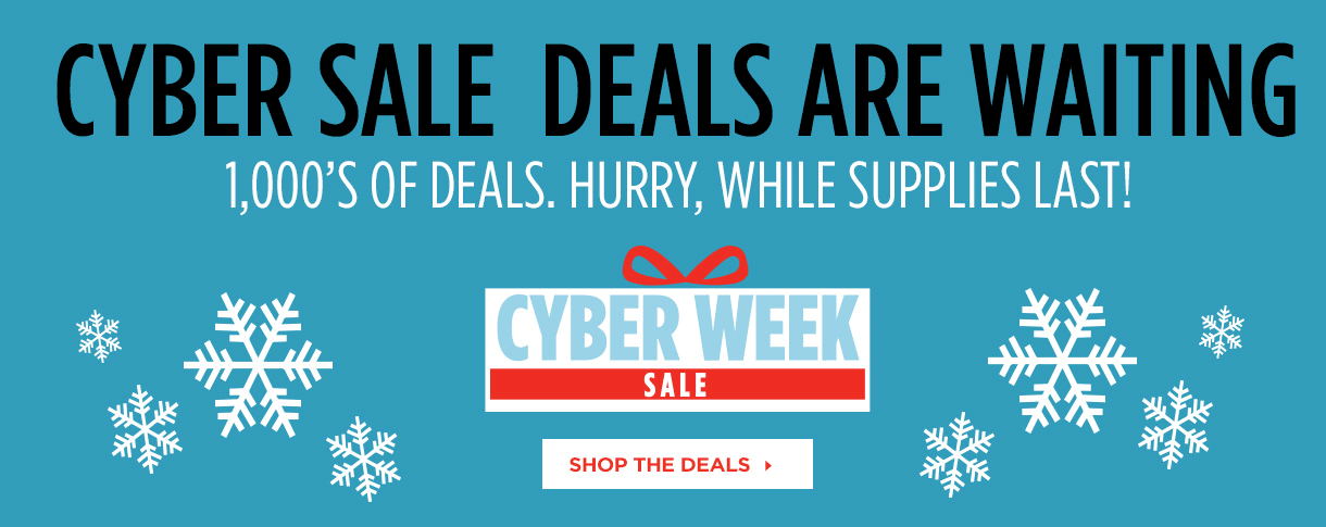Cyber Week Deals at Sports Authority