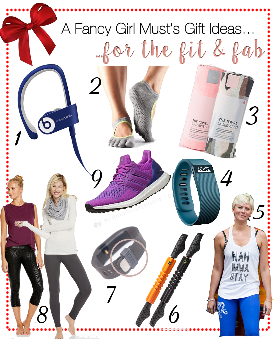 2015 Holiday Gift Guide: Fab Fitness Gifts for Women