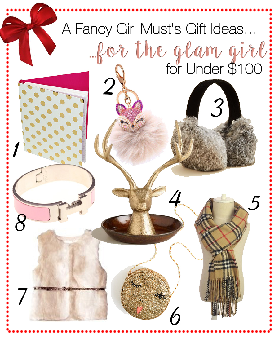 2015 Holiday Gift Guide: Gifts Under $100 for the Glam Girl