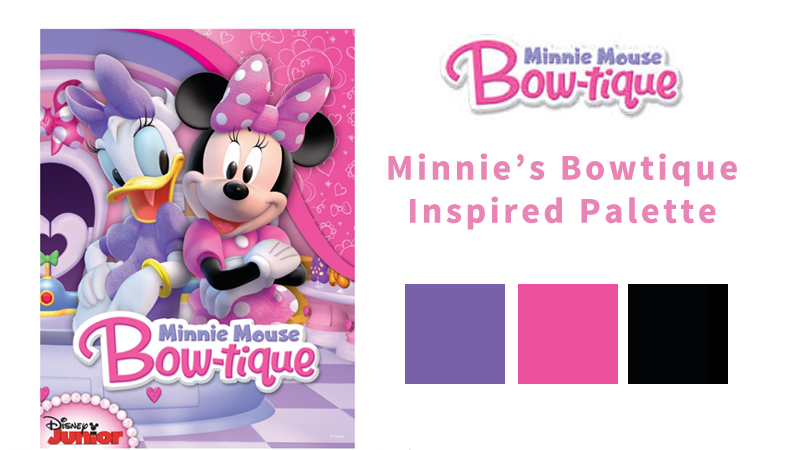 Girls' Winter Birthday Color Themes - Minnie Mouse Bowtique