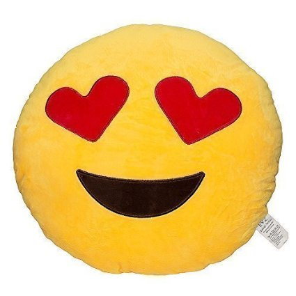 Emoji Smiley Face Pillows