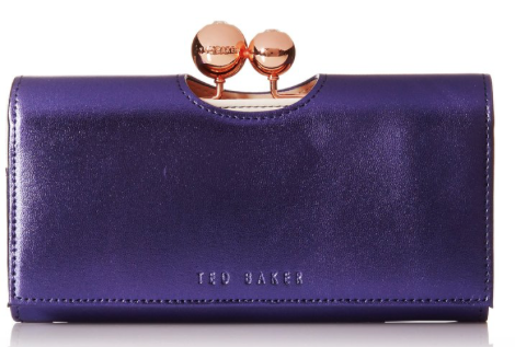 Ted Baker Carlon Metallic Flap Matinee Wallet