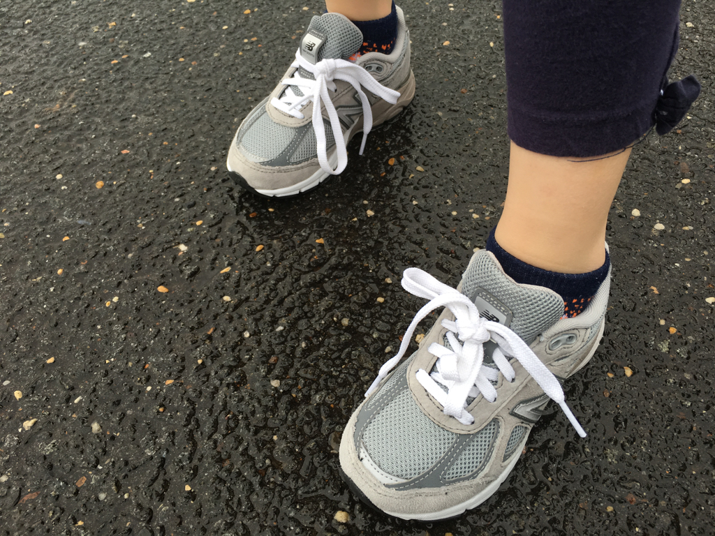 Classic New Balance for Kids, The Fancy Girl Way